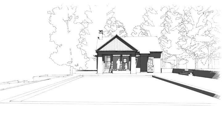 Chadds Ford Pool House - Image 04
